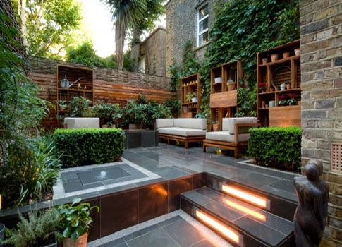 Garden design blog urban garden design country city for Modern garden design for small spaces