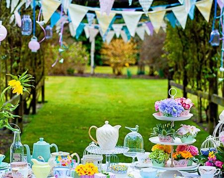 Garden Design Blog | Garden Party Ideas For The Last Of Summer
