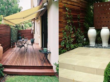 Garden Design Decking - Paving