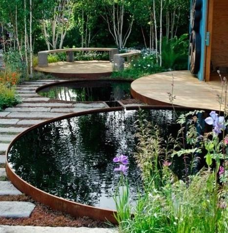 garden design water